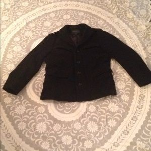 Banana republic wool nylon Black Jacket